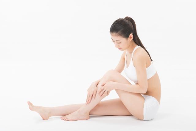 足のむくみの解消法とメリロートの副作用について