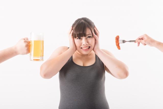 ストレスの多いダイエット