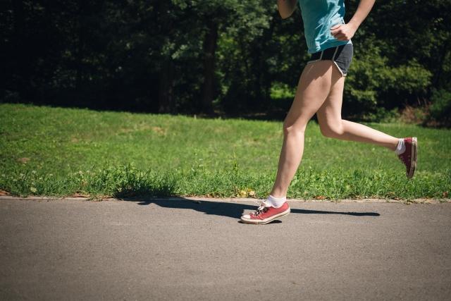 マラソン選手