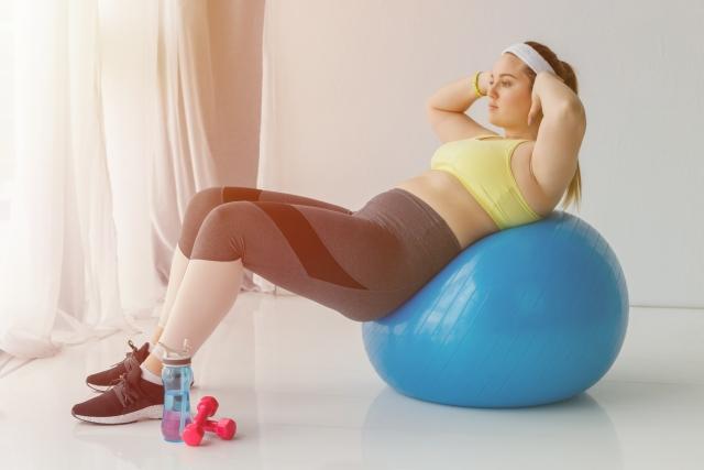 運動で痩せる