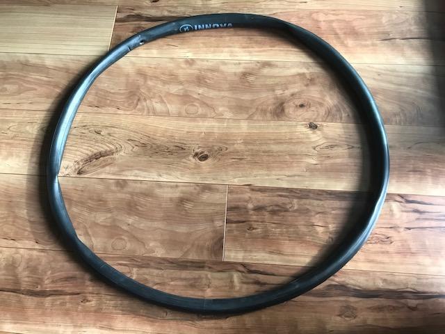 自転車のタイヤチューブ