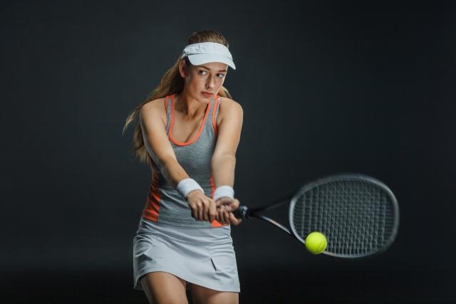 テニスでふくらはぎが太くなる