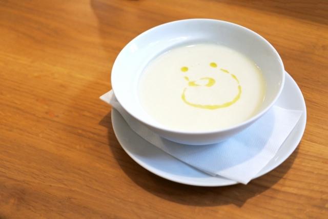 じゃがいもの冷静スープ